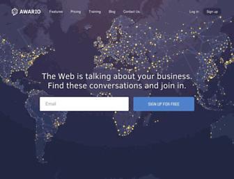 awario.com screenshot