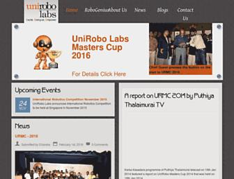unirobolabs.com screenshot