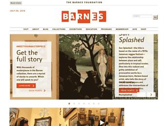 Thumbshot of Barnesfoundation.org