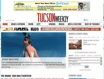 Thumbshot of Tucsonweekly.com