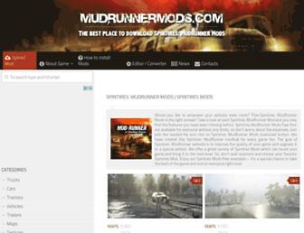 mudrunnermods.com screenshot