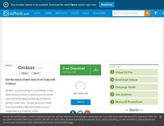cricbuzz.en.softonic.com screenshot