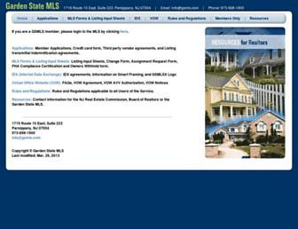 forms.gsmls.com screenshot