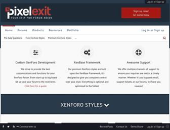 Thumbshot of Pixelexit.com