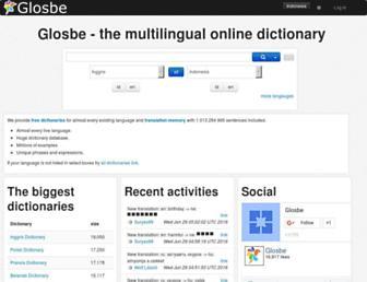 id.glosbe.com screenshot