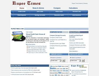 Thumbshot of Rupeetimes.com