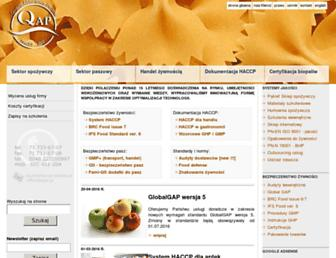 Main page screenshot of pptbib.pl