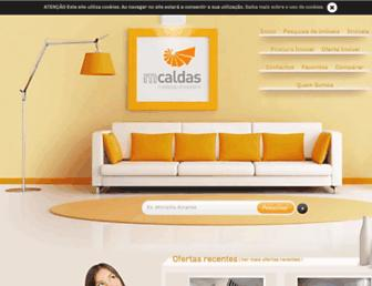 Main page screenshot of mcaldas.pt