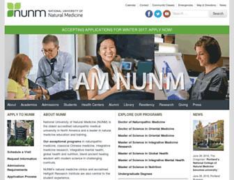 Thumbshot of Ncnm.edu