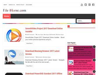 file-horse.com screenshot