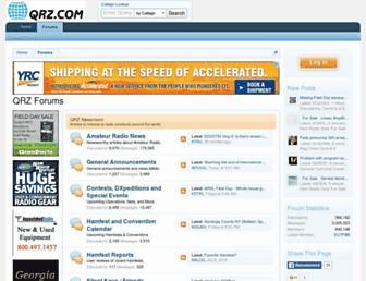 forums.qrz.com screenshot