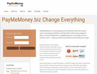 Thumbshot of Paymemoney.biz