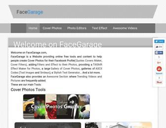 facegarage.com screenshot