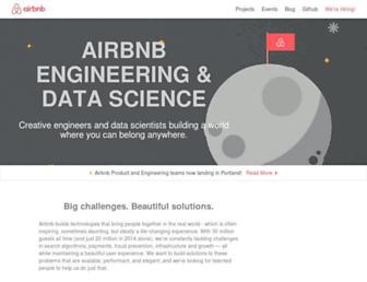 airbnb.io screenshot