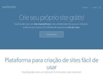 webnode.com.br screenshot