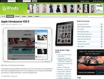 ipod1.no screenshot