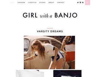 girlwithabanjo.com screenshot