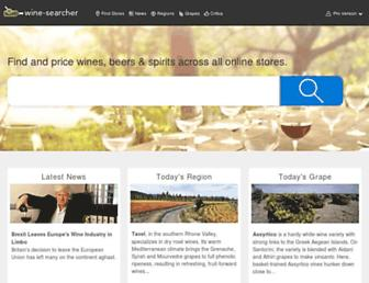 Thumbshot of Wine-searcher.com