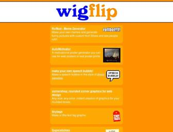 wigflip.com screenshot
