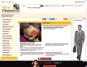 Thumbshot of Birdchannel.com