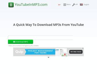 Thumbshot of Youtubeinmp3.com