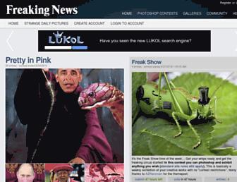 Thumbshot of Freakingnews.com