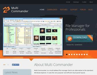 multicommander.com screenshot