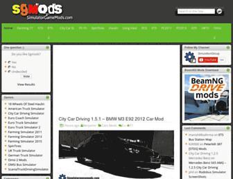 simulatorgamemods.com screenshot