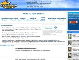 Thumbshot of Seabreeze.com.au