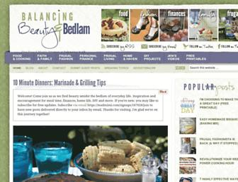 Thumbshot of Beautyandbedlam.com