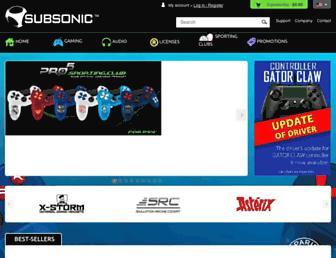 subsonic.com screenshot