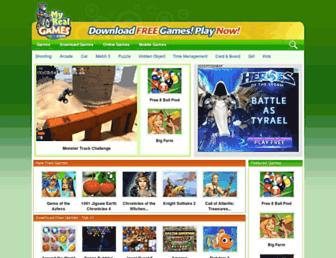 myrealgames.com screenshot