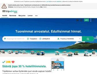 tripadvisor.fi screenshot