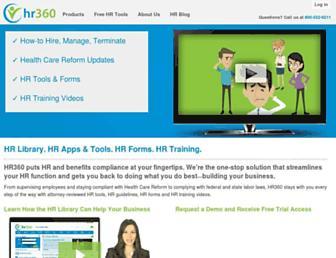 hr360.com screenshot