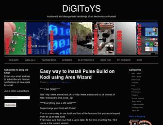digitoys.co.uk screenshot