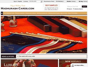 Thumbshot of Madhurashcards.com