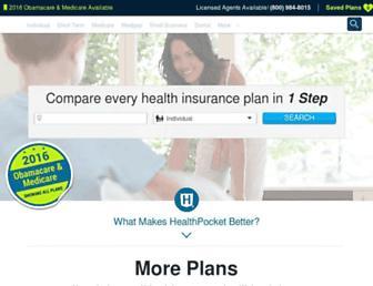 healthpocket.com screenshot