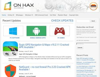 Thumbshot of Onhax.com