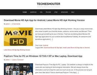 techieshouter.com screenshot