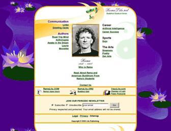 Main page screenshot of ramalila.net
