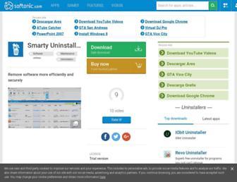 smarty-uninstaller.en.softonic.com screenshot
