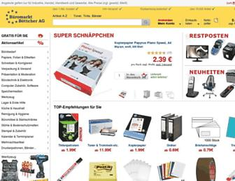 bueromarkt-ag.de screenshot