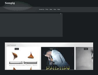 songig.com screenshot