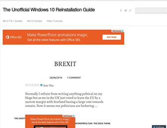 dellwindowsreinstallationguide.com screenshot