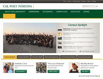cpp.edu screenshot
