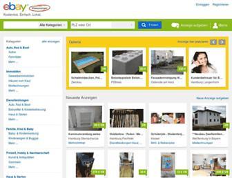 Thumbshot of Ebay-kleinanzeigen.de