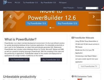 powerbuilder.eu screenshot