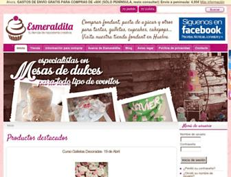 esmeraldita.es screenshot