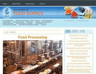 worldfoodscience.com screenshot
