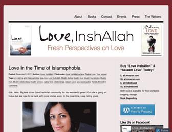 loveinshallah.com screenshot